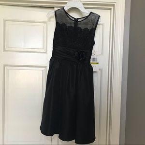 Rare Editions Girl's Black Dress